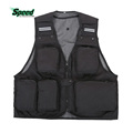 Hot Sale Outdoor Sport Clothing Fishing Vest Summer Fishing Vest Multi Pocket Fishing Director Photojournalist Clothes