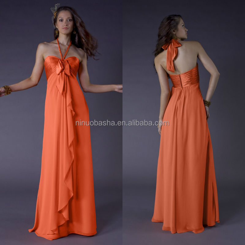 Venta al por mayor vestidos anaranjados 2014-Compre online los ...