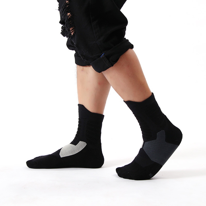 Wholesale high tube elite sock any pull socks professional Ankle basketball socks