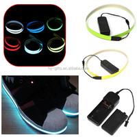 illuminated glowing el tape super brightness flexible neon el tape