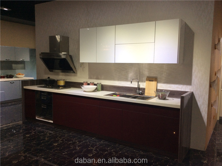 New kitchen low cost of daban inexpensive kitchen cabinets for Acrylic kitchen cabinets cost
