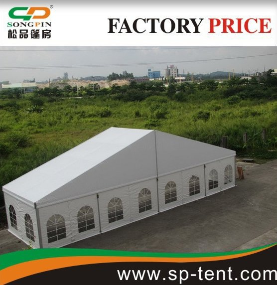 18X30m Hot sale decorated marquee party tent for outdoor wedding events