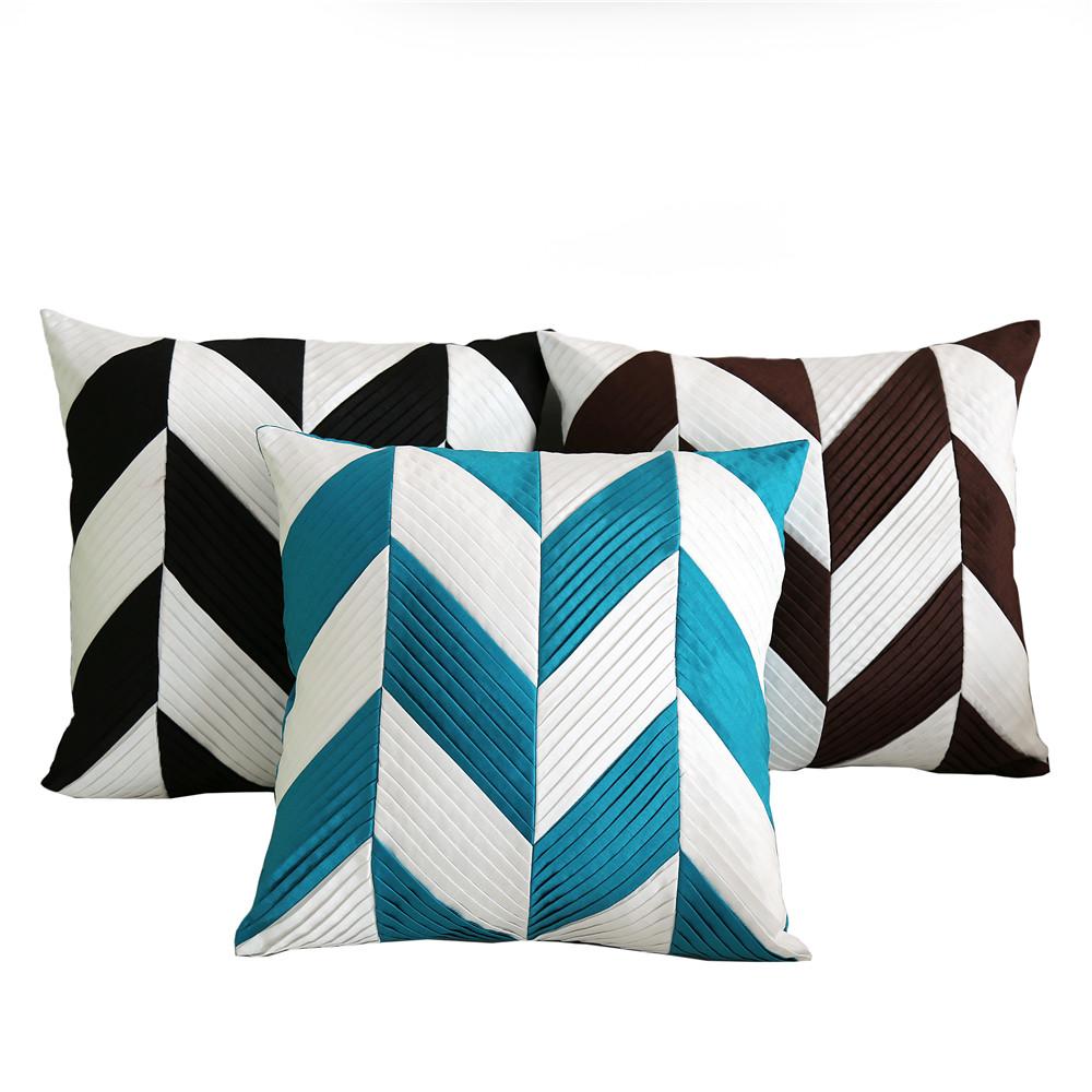 Venta al por mayor telas cojines geometricas Compre online los