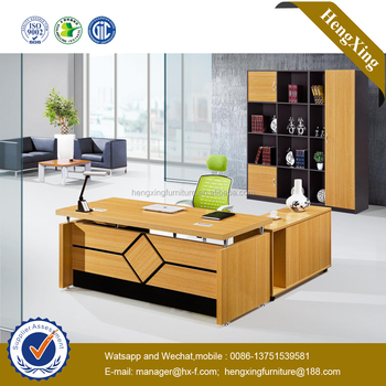 Luxury Design L Shape Modern Executive Desk Office Table (HX GD045)