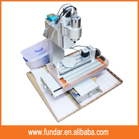 1500w Water Cooling Spindle HY-3040 4 Axis Mini CNC Aluminum Router