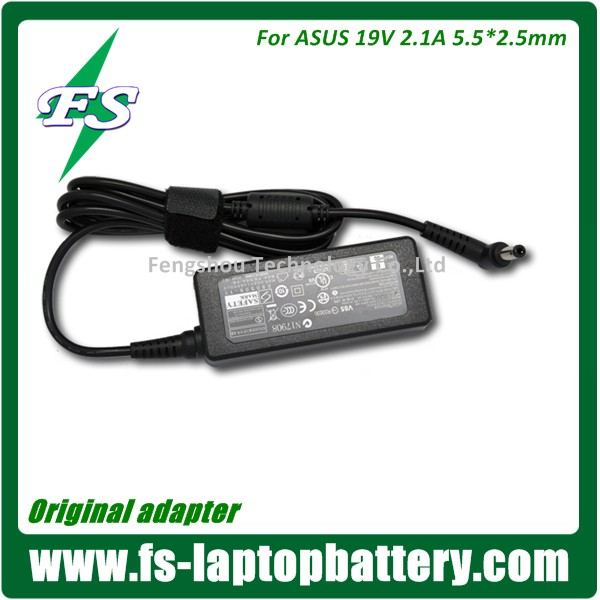 New original 40W AC Adapter Charger FOR ASUS 19V 2.1A Power supply adapter charger Eee 1201NL 1201T 1201PN 1015 1015PED