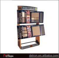 High quality wooden carpet rug display rack