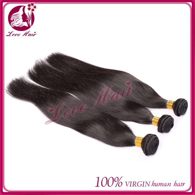 Indian hair straight hair extension go straight silky straight indian remi hair relaxed straight hair