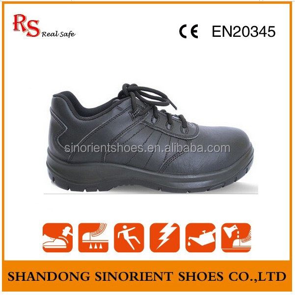 Buffalo leather Work time Removable steel toe cap for Safety shoes Orthopedic RS96