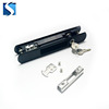 Aluminum sliding windows double hung window safety lock