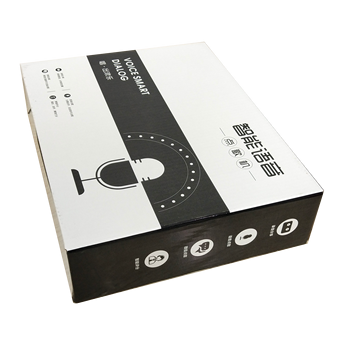 custom logo carton packaging apparel packaging big 5 layer carton  paper  android tv box
