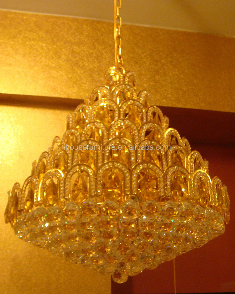 China Made Cheap Israel Crystal Led Hanging Pendant Chandelier ...