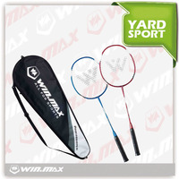 Winmax brand Easy carrying&good flexibility badminton set