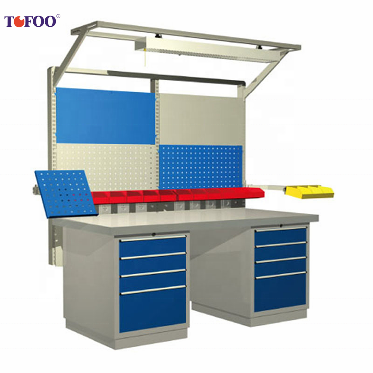 China Wholesale Custom metal storage cabinet steel heavy duty packing table tool cabinet