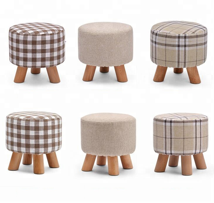 Brilliant Custom Logo Fsc Wood Round Child Foot Stool With Four Wooden Legs Buy Wooden Stool Round Stool Household Stool Product On Alibaba Com Andrewgaddart Wooden Chair Designs For Living Room Andrewgaddartcom
