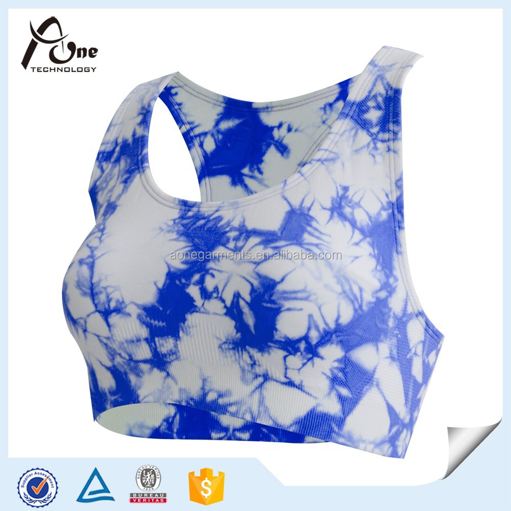 Custom Sublimation Printed Plus Size Bra