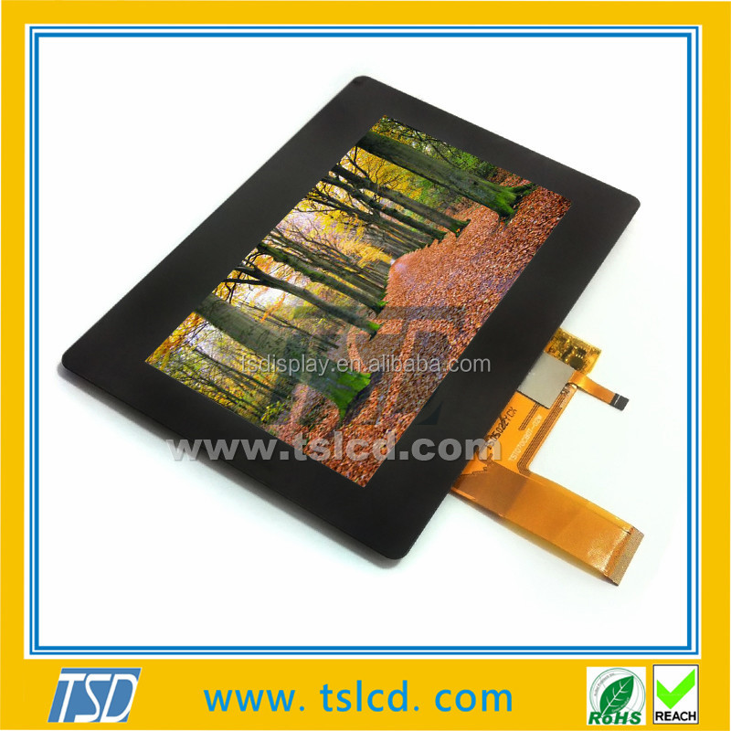 Sunlight readable TFT 7 inch lcd with Anti-reflective film