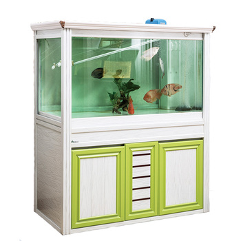 New style aluminum fish tank aluminum cabinet for living room