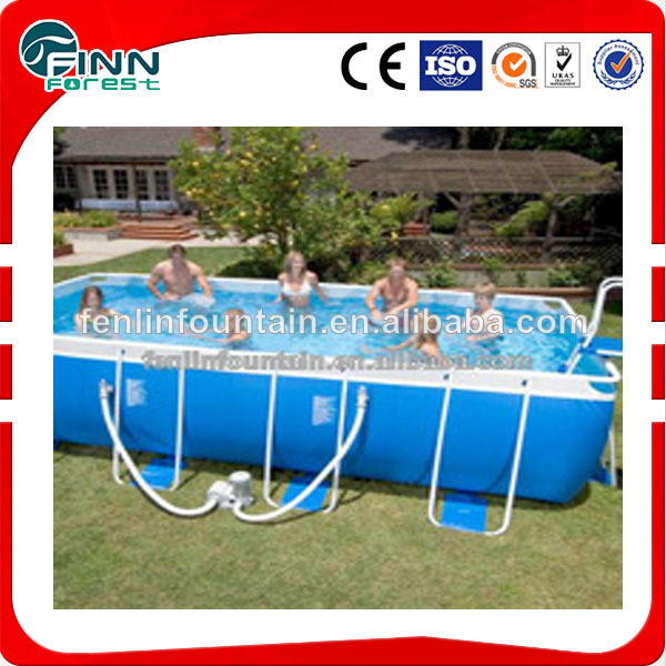 Fuori terra grande piscina gonfiabile nuoto piscina e - Piscina sopra terra ...