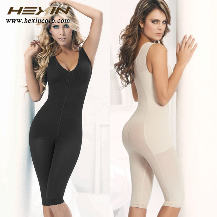 L/C accept Factory price breathable shapewear uk cheap with zipper