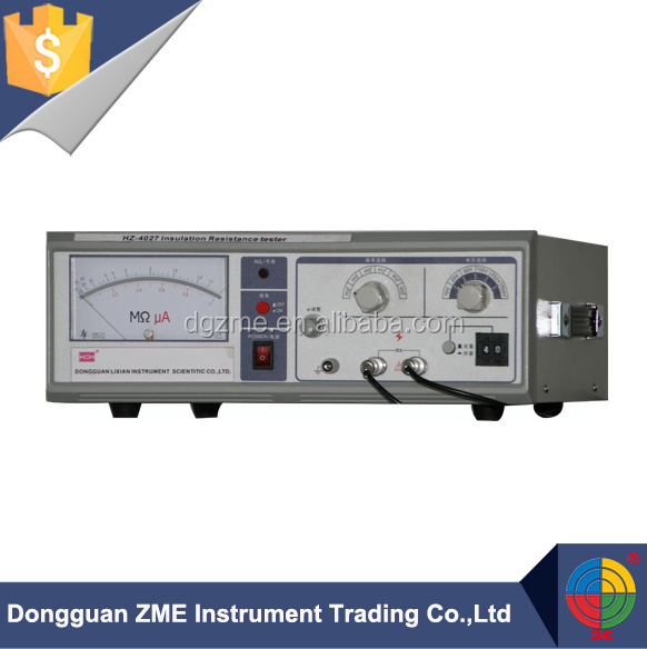 Wire and Cable Insulation Resistance Testing Machine Hipot Tester