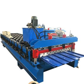 China Corrugated Zinc Roof Sheet Roll Forming Machine