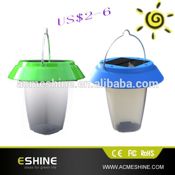 plastic good quality Chinese solar lantern with DC Charger