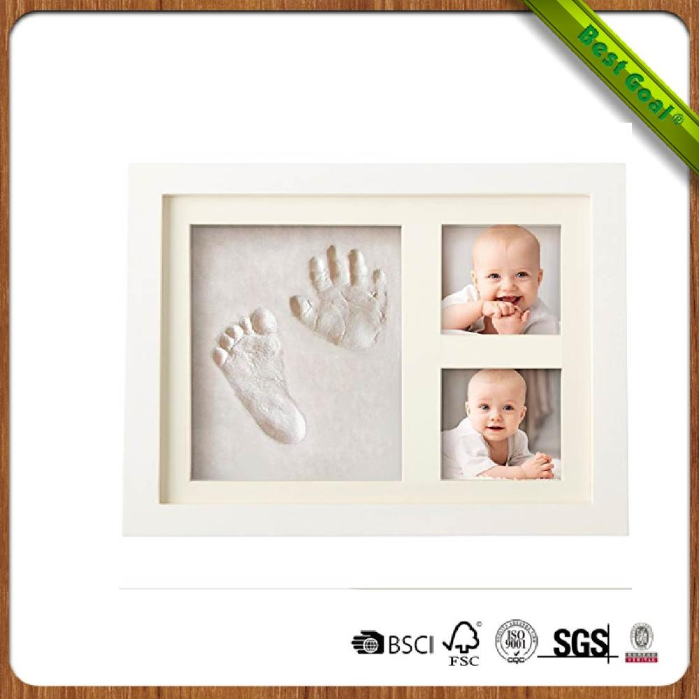 Best Baby Hand & Footprint Picture Frame Kit For Boys And Girls ...