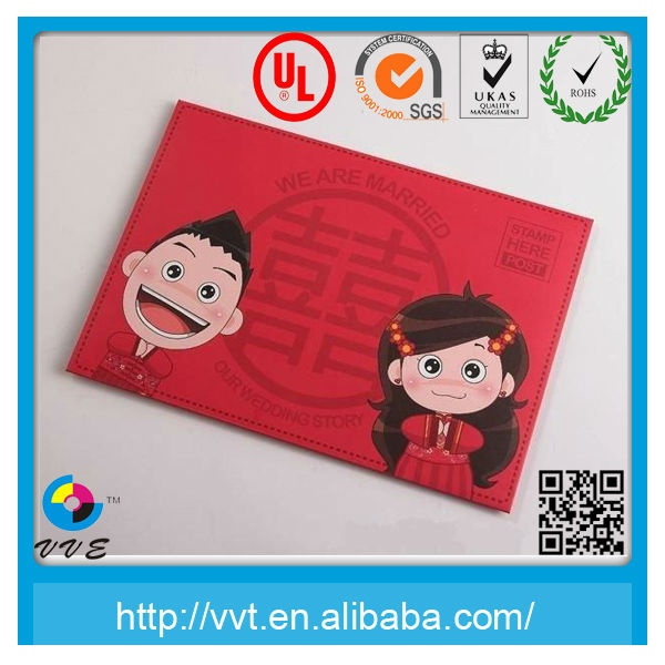 Cute Chinese Lucky Red Envelope for Wedding