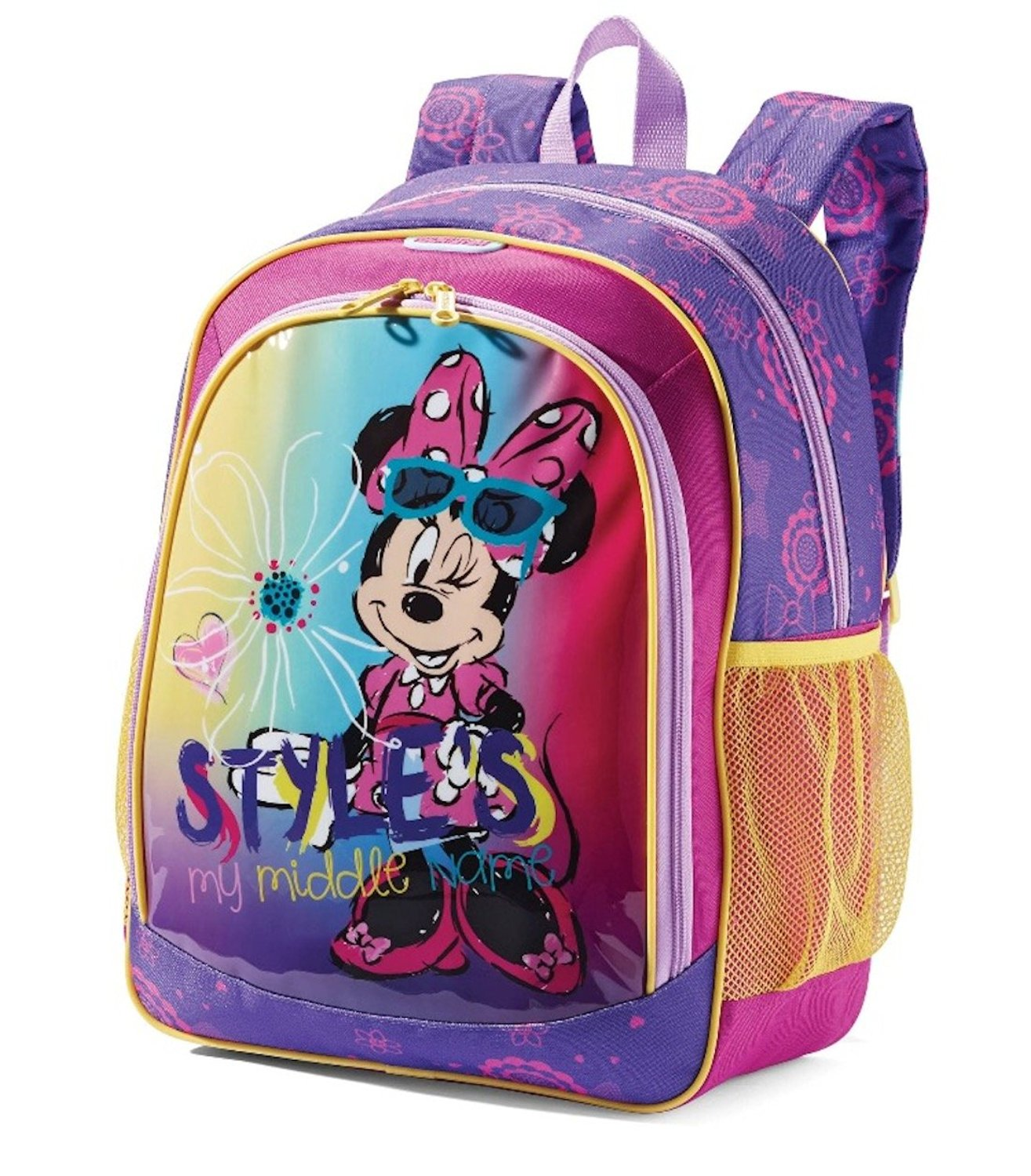 """Disney Minnie Mouse Kids 16"""" American Tourister Backpack"""