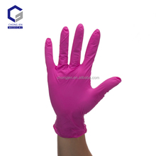 wholesale textured disposable Malaysia nitrile examination blue gloves