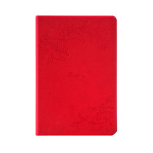 Groothandel blank tijdschriften rode kleur hard cover notebook <span class=keywords><strong>gerecycled</strong></span> <span class=keywords><strong>papier</strong></span> notepad 100gsm 192 pagina's