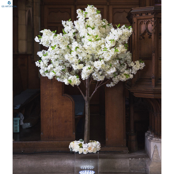 Artificial White Cherry Blossom Trees Small Tree Wedding