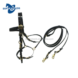 China Supply waterproof Adjustable TPU Horse Bridle with rein