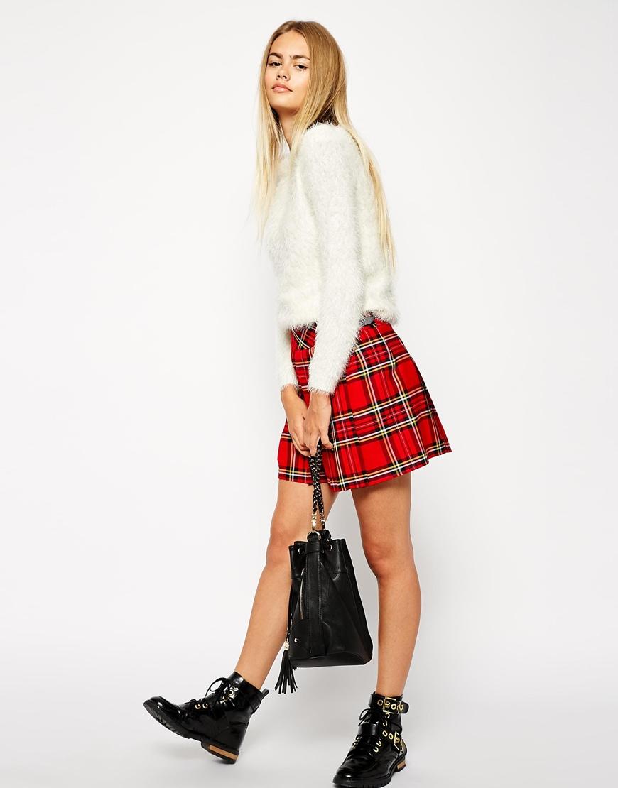Scottish mini skirt 5