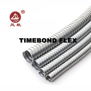 Flexible electrical wire conduit , Galvanized steel pipe, Galvanized flexible steel wiring conduit