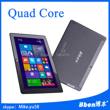 2015 Cheapest 10 inch Tablet PC  Quad Core 1.33GHz 2G RAM 32G/64G ROM WIN8 Bben Tablet PC 10.1″ HDMI+Gifts