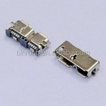 Micro Mini Usb 30 Female 10 Pin Smt Smd Pcb Socket Connector