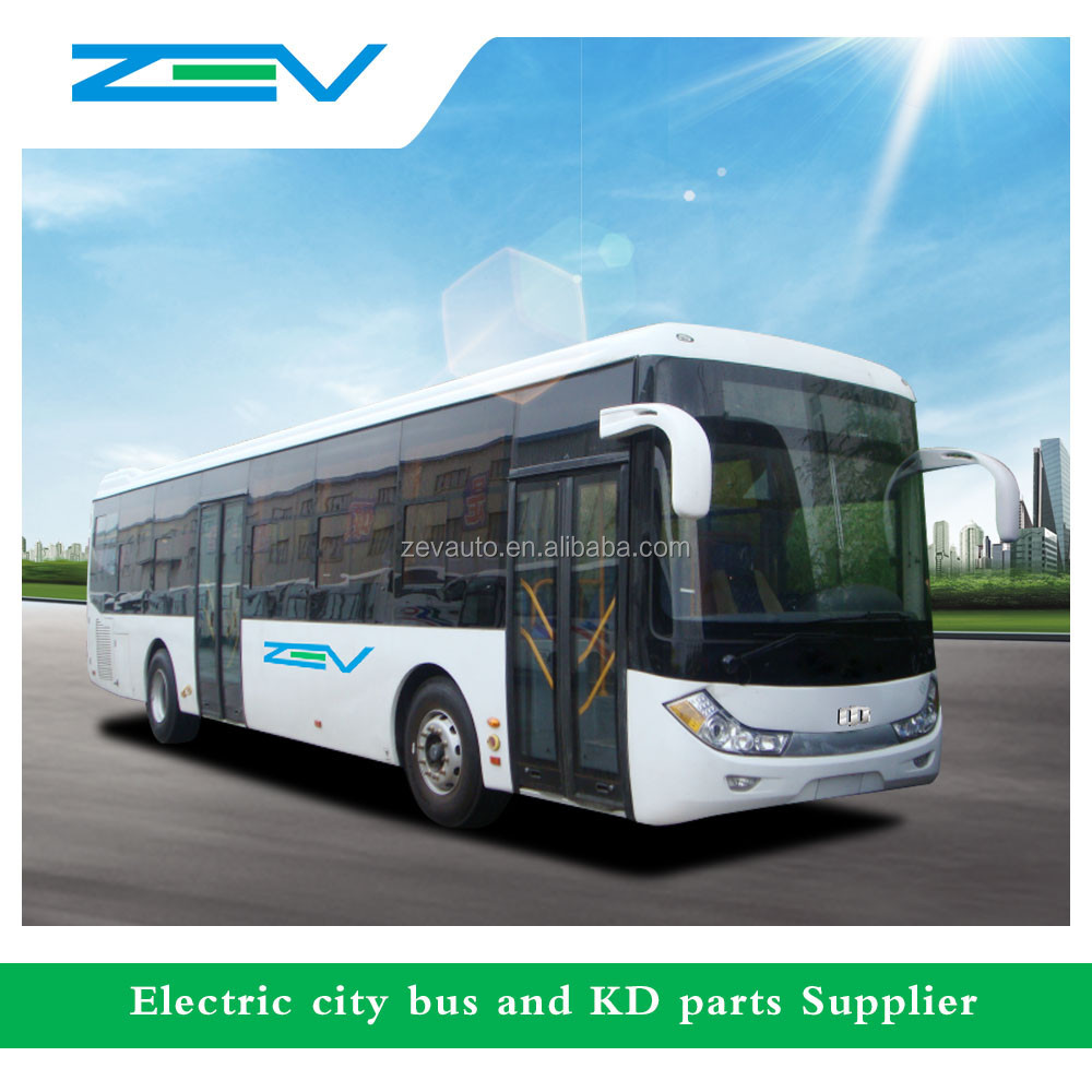 ZEV 6128 12 meters Euro 2 90seats China city bus low price for Sale