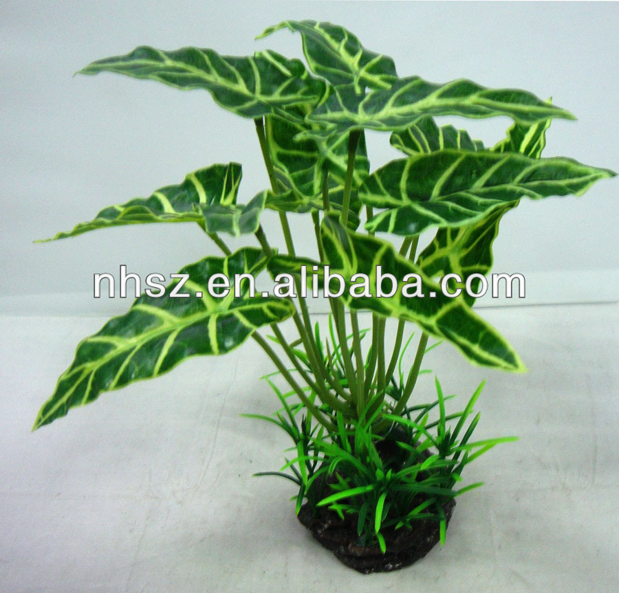 Aquarium Artificial Tropical Plants