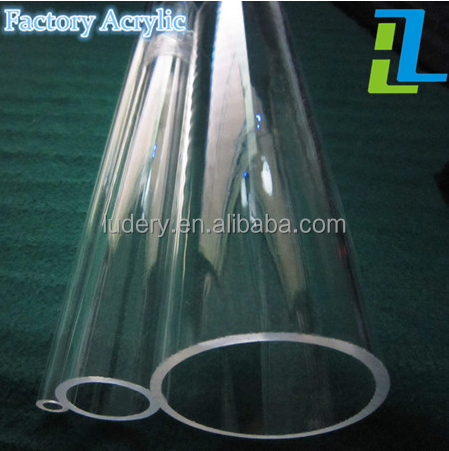 Customized Transparent Acrylic Plastic Tube/PMMA Pipe
