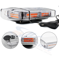 DC12-24V 60W Truck Car roof warning strobe flash light bar with magnetic base