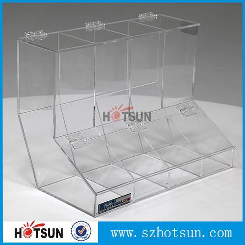 Bulk Acrylic Dispenser Scoop Holder Plexiglass Candy Box