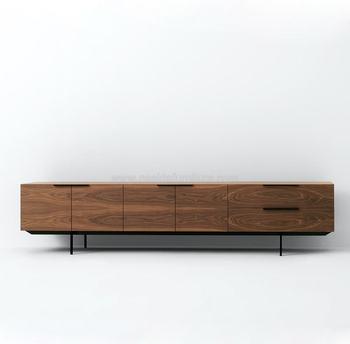 Tv sideboard modern  Nd523 A Walnut Studio Pastoe Frame Sideboard In Livingroom - Buy ...