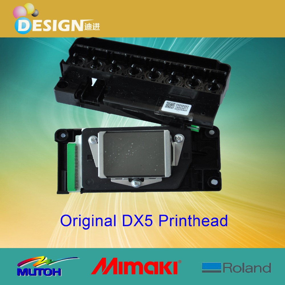 For original printhead as eco solvent epson dx5 print head for mutoh mimaki printers