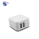 Wholesale Usa Flat Mini Micro Universal Socket Ul Certified 12V 5V 2.1A 2A Single 2 4 Ports Dual Usb Wall Charger Adapter