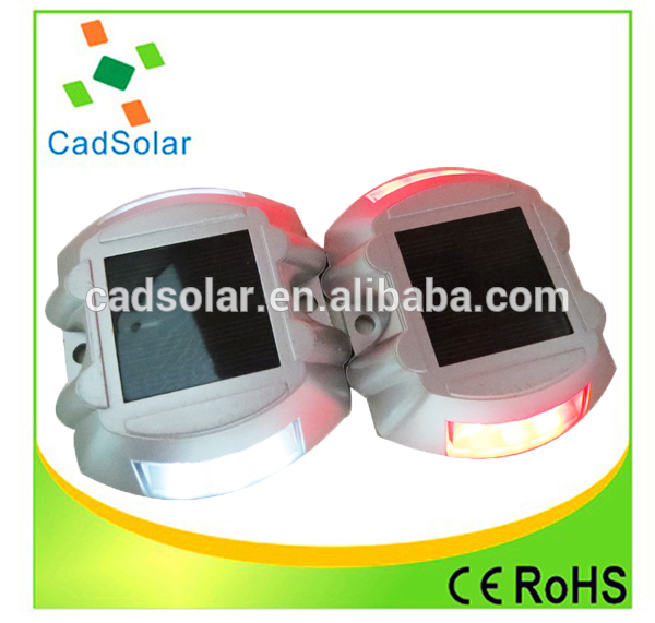 Customized china led solar road stud street reflectors for sale
