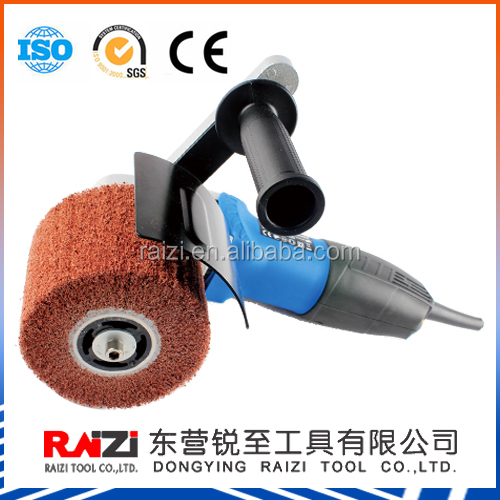 Raizi 100*120 mm hand stainless steel polisher/polishing machine for stainless steel flat surface