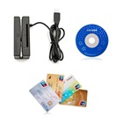 Hotsale ZCS100- IC credit card reader PC smart Chip card reader writer + magnetic card reader