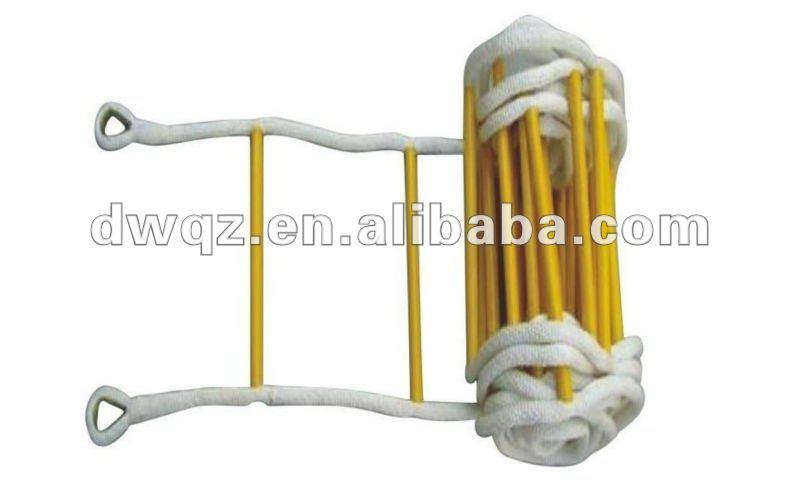 Portable plegable escalera de cuerda de nylon industrial - Escaleras de cuerda ...